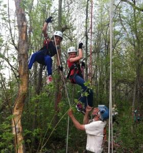 "Girls Scout Climb at ""Phoenix"""